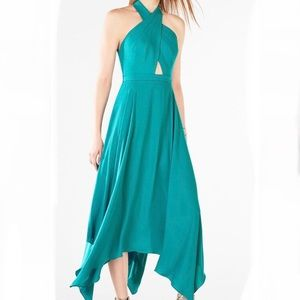 BCBG Annmarie Emerald Dress